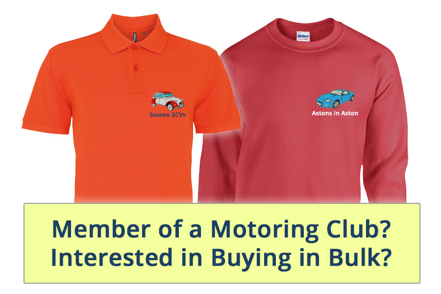 Are you a member of a motoring club and are interested in buying in bulk?