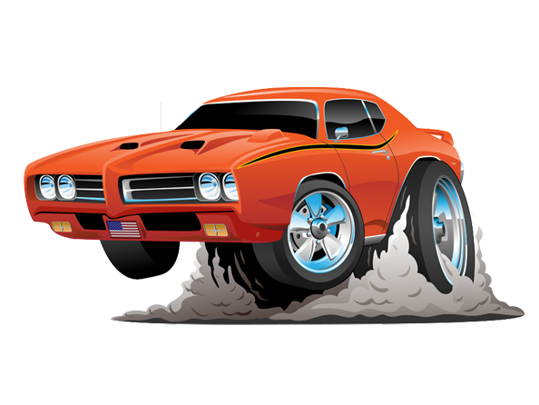 Image of Classic Custom Car available on all merchandise