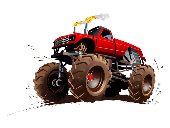 Image of Monster Truck available on all merchandise